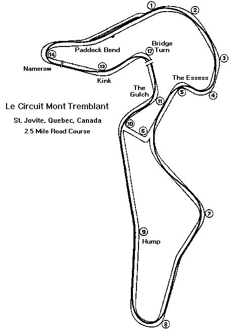 Mt. Tremblant map